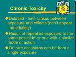chronic toxicity1