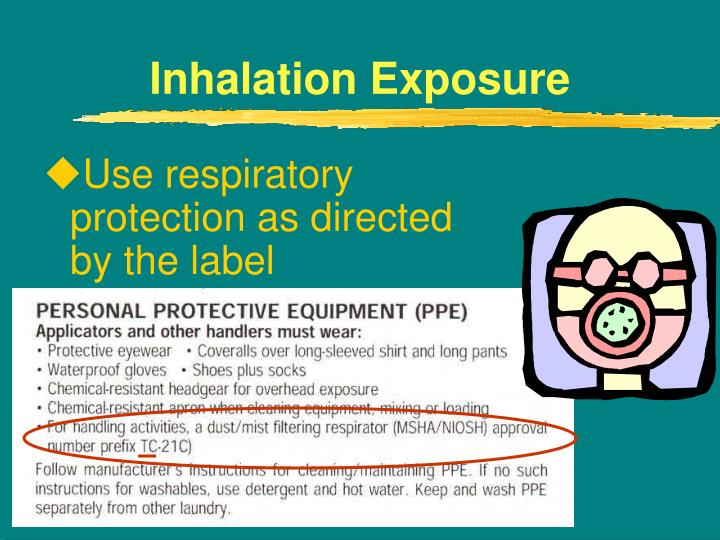 Use respiratory protection as directed by the label