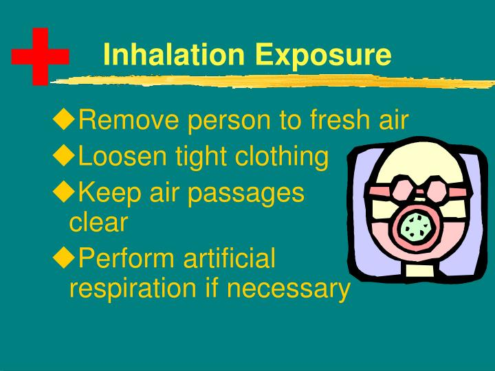 Remove person to fresh air