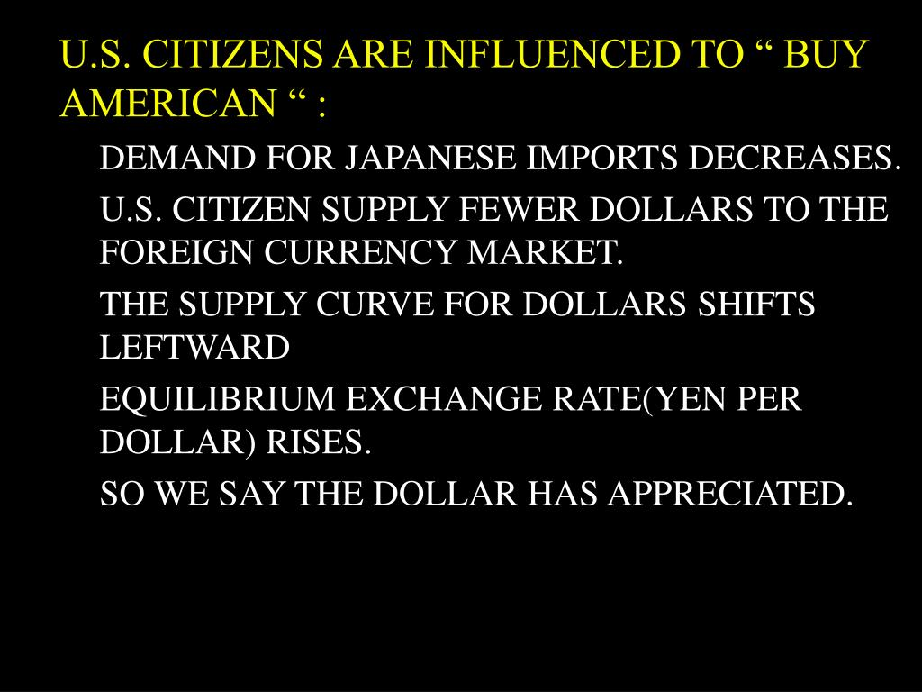 "U.S. CITIZENS ARE INFLUENCED TO "" BUY AMERICAN "" :"