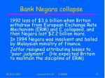 bank negara collapse