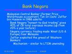 bank negara