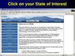 click on your state of interest