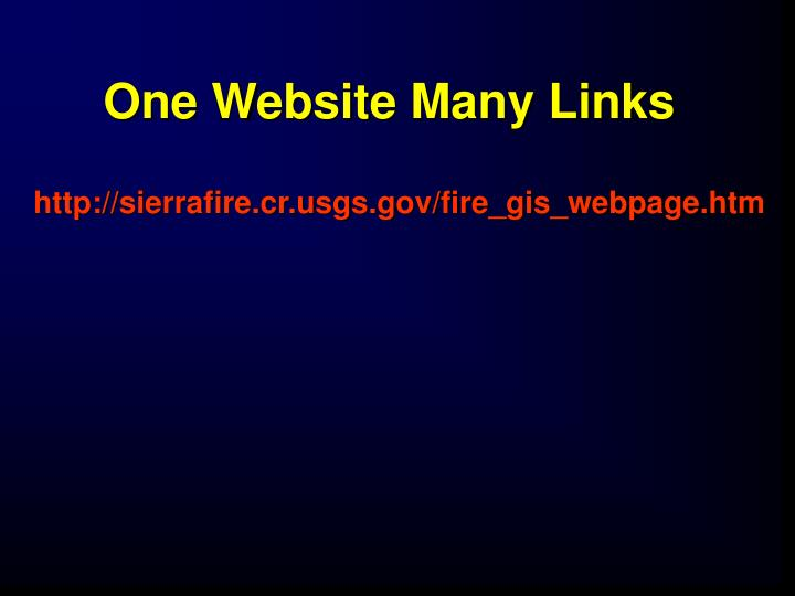 One Website Many Links