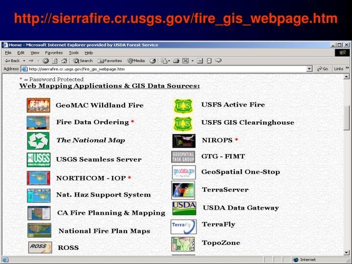 http://sierrafire.cr.usgs.gov/fire_gis_webpage.htm