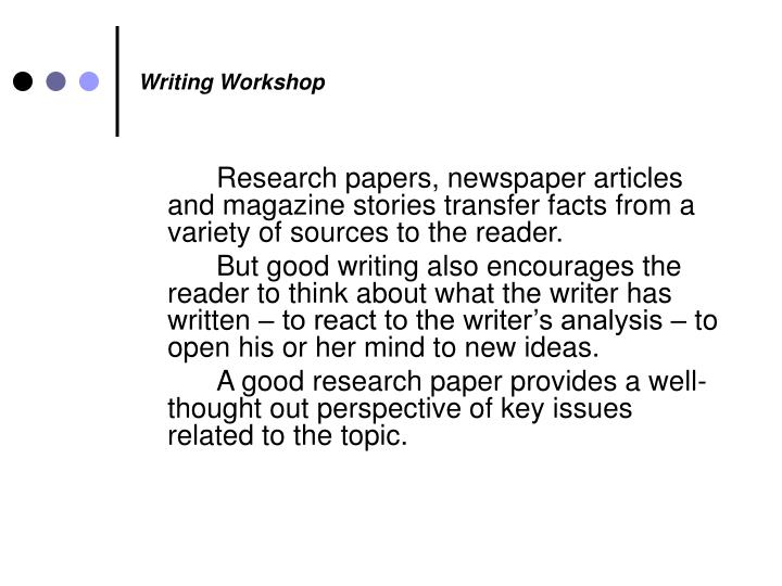 Writing workshop2
