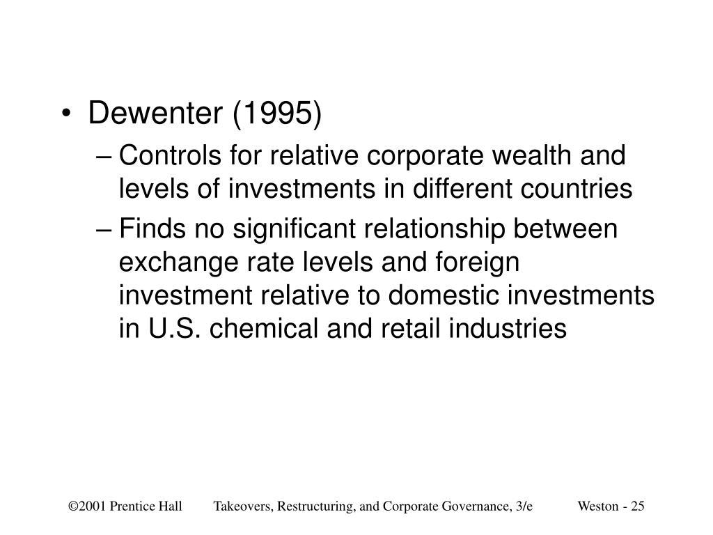 Dewenter (1995)