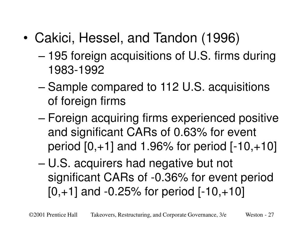 Cakici, Hessel, and Tandon (1996)