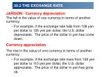 20 2 the exchange rate16