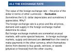 20 2 the exchange rate17