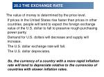 20 2 the exchange rate46