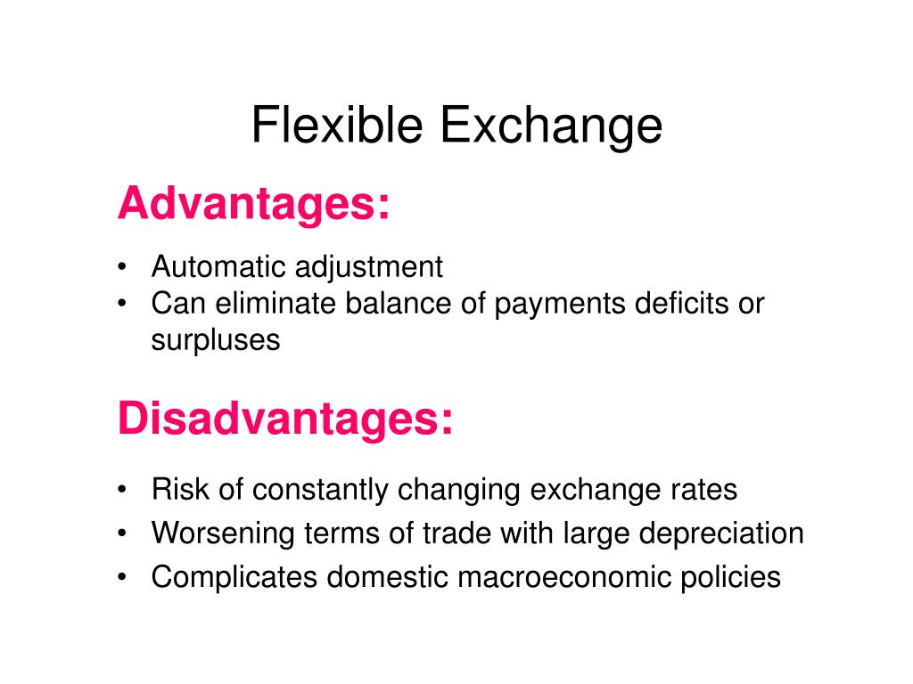 Flexible Exchange