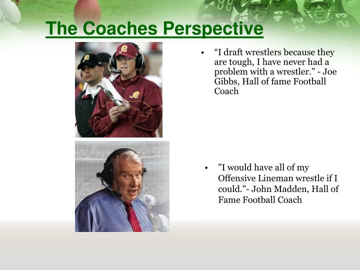 The Coaches Perspective