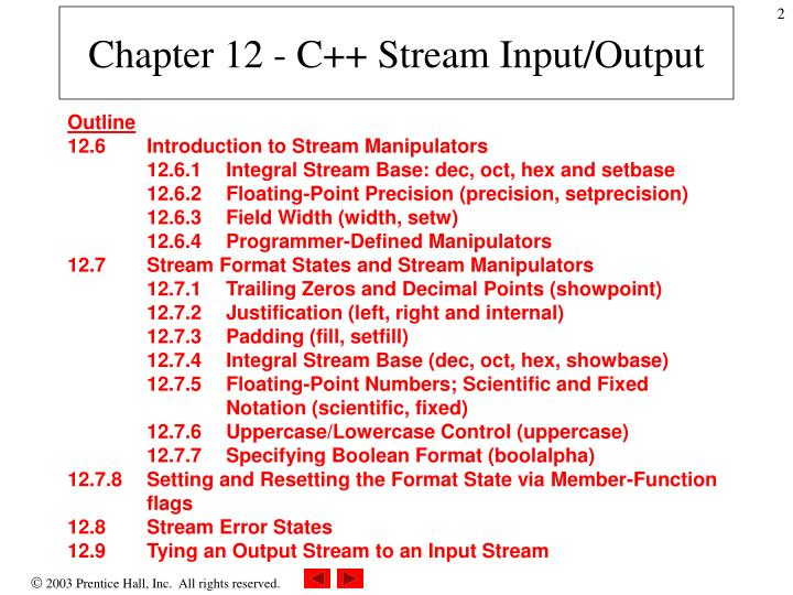 Chapter 12 c stream input output1