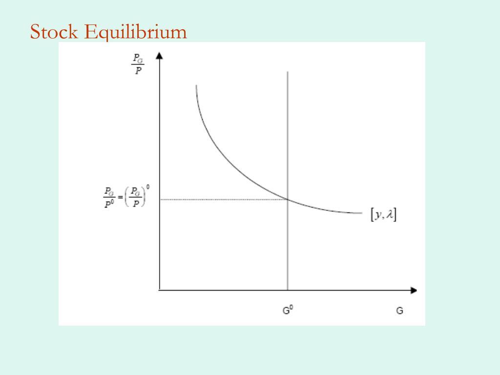 Stock Equilibrium
