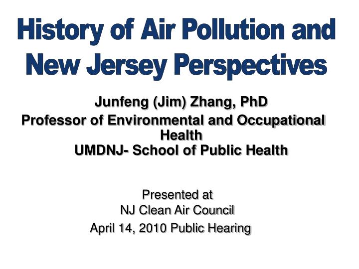 Junfeng (Jim) Zhang, PhD