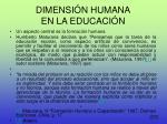 dimensi n humana en la educaci n2