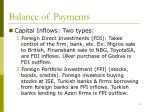 balance of payments9