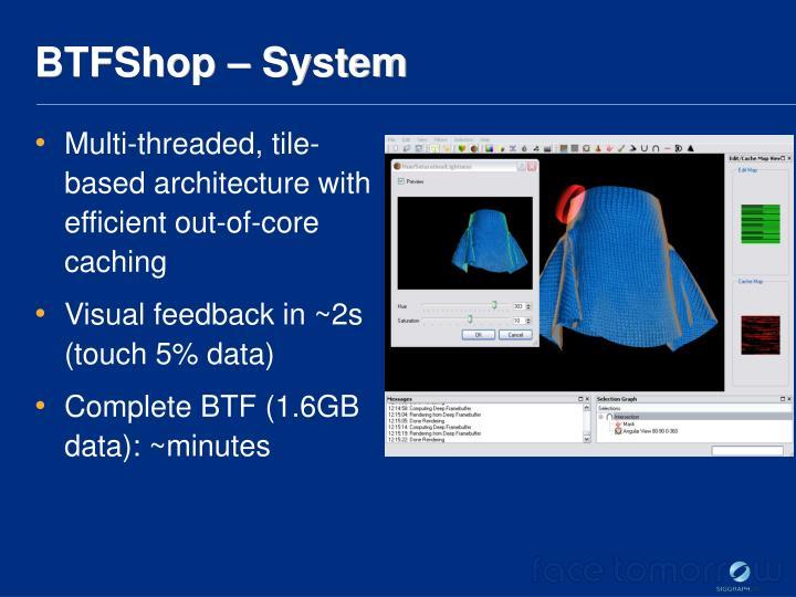 BTFShop – System