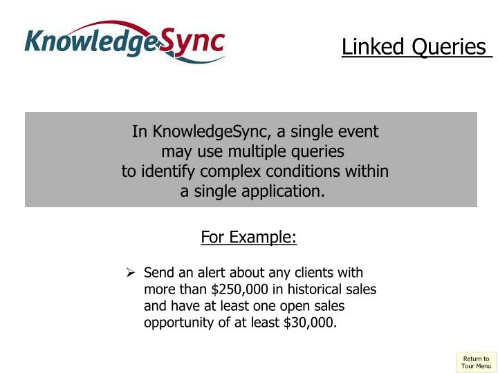 Linked Queries