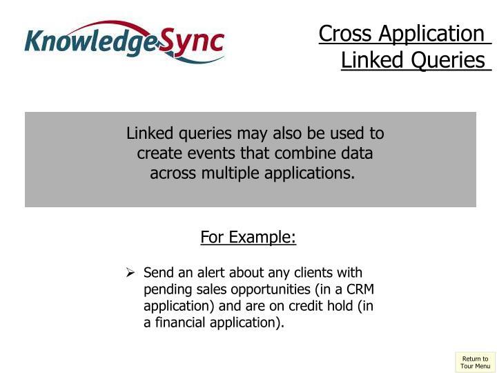 Cross Application