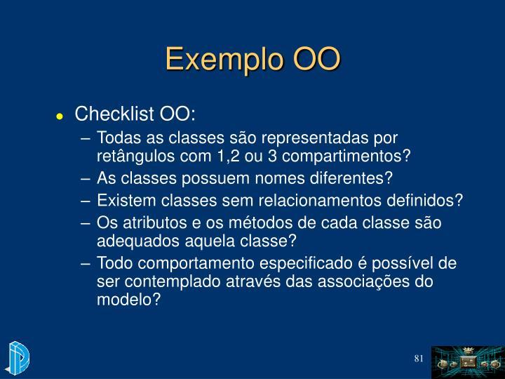 Exemplo OO