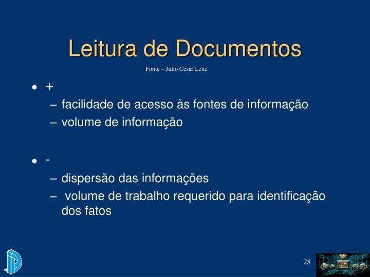 Leitura de Documentos