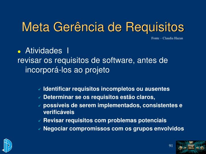 Meta Gerência de Requisitos