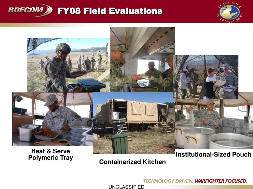 FY08 Field Evaluations