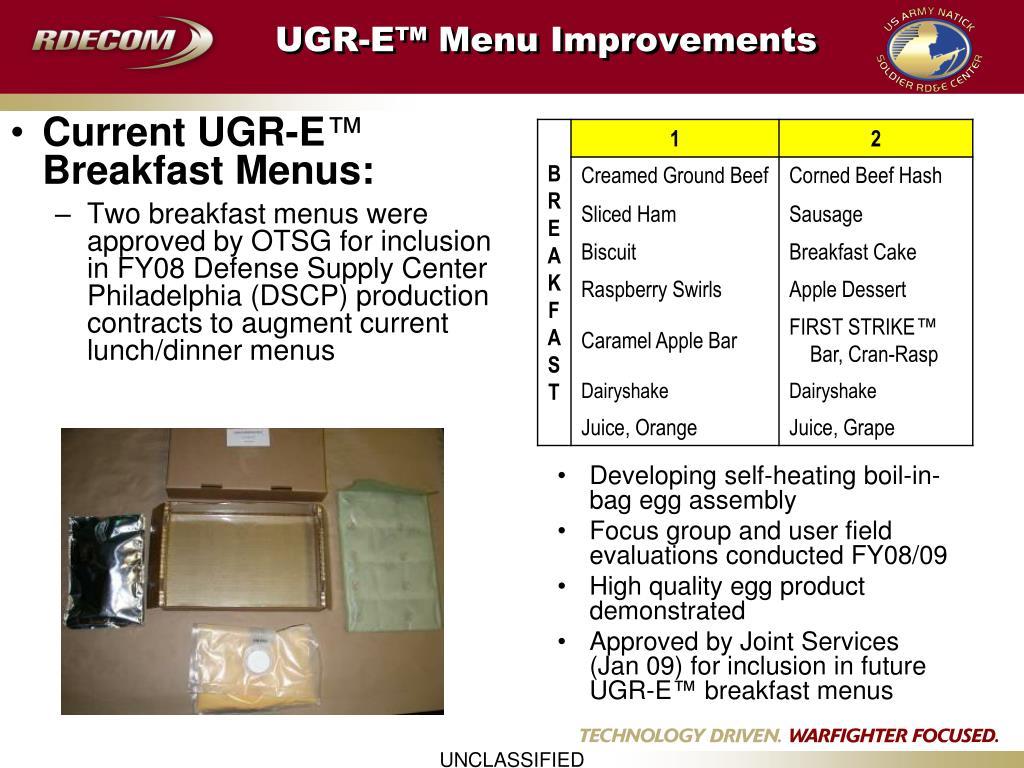 Current UGR-E