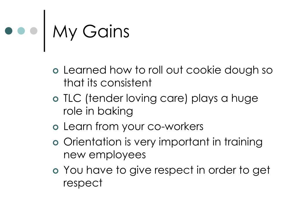 My Gains