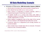 oo data modelling example