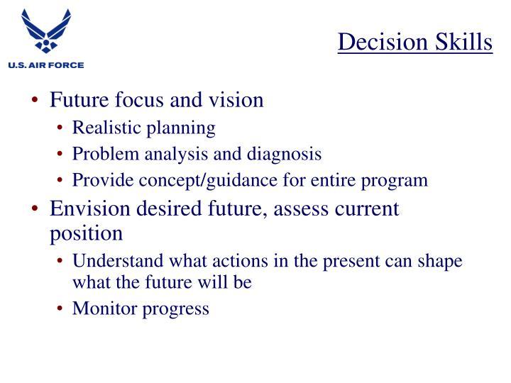 Decision Skills