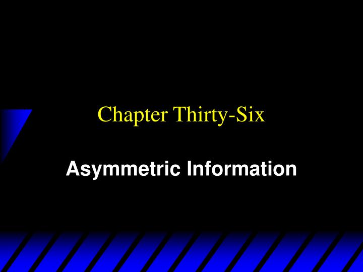 Chapter thirty six