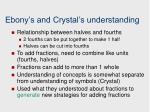 ebony s and crystal s understanding