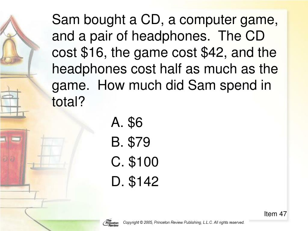 Sam bought a CD, a computer game, and a pair of headphones.  The CD cost $16, the game cost $42, and the headphones cost half as much as the game.  How much did Sam spend in total?