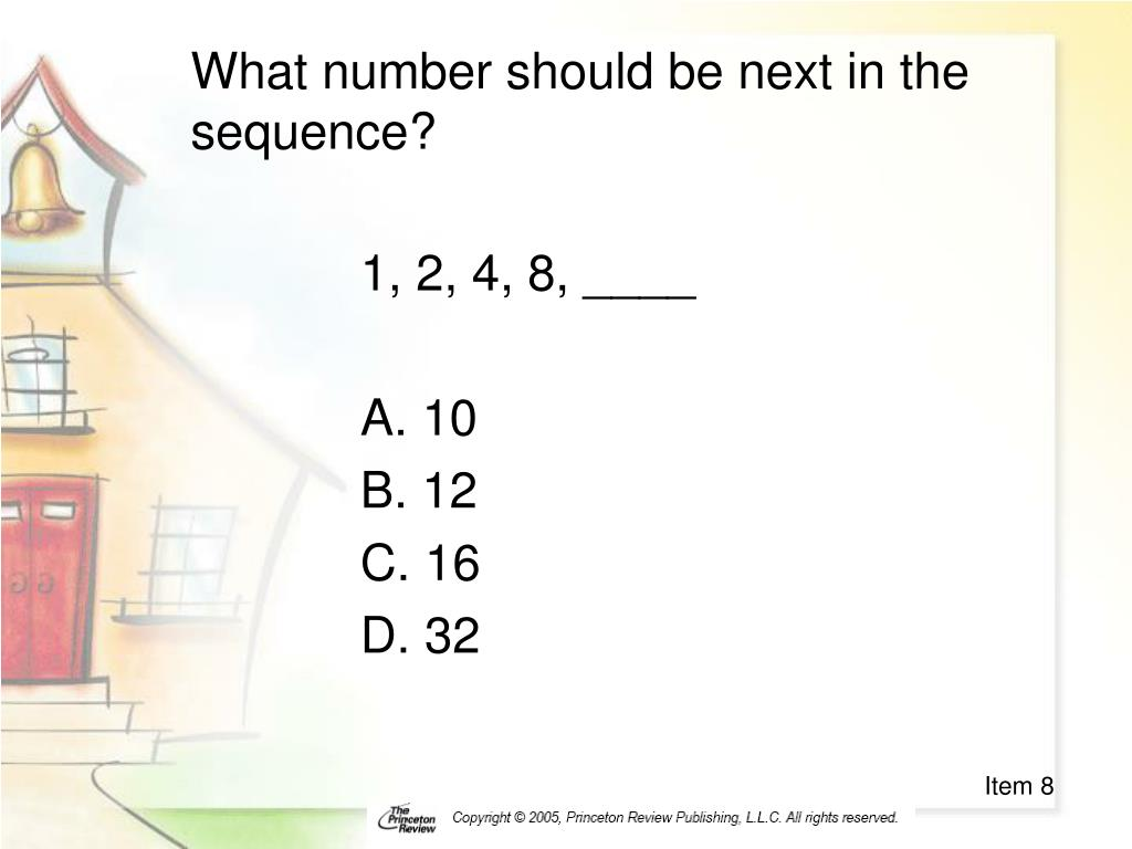 What number should be next in the sequence?