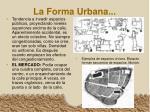 la forma urbana