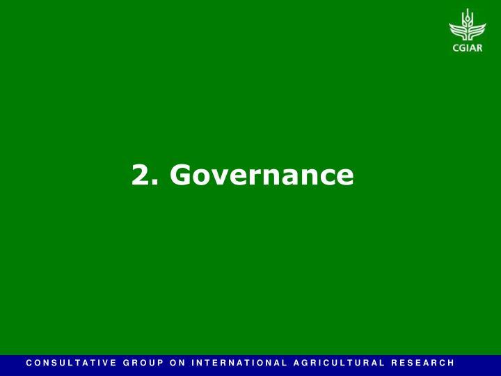 2. Governance