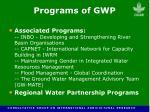 programs of gwp