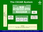 the cgiar system