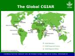 the global cgiar