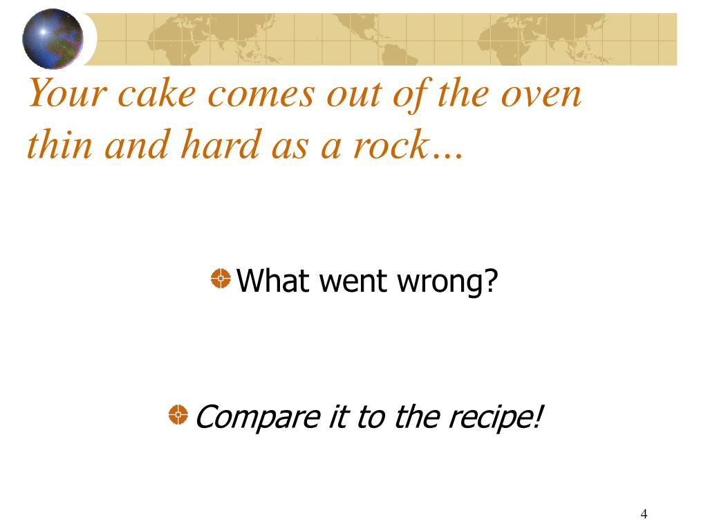 Your cake comes out of the oven thin and hard as a rock…