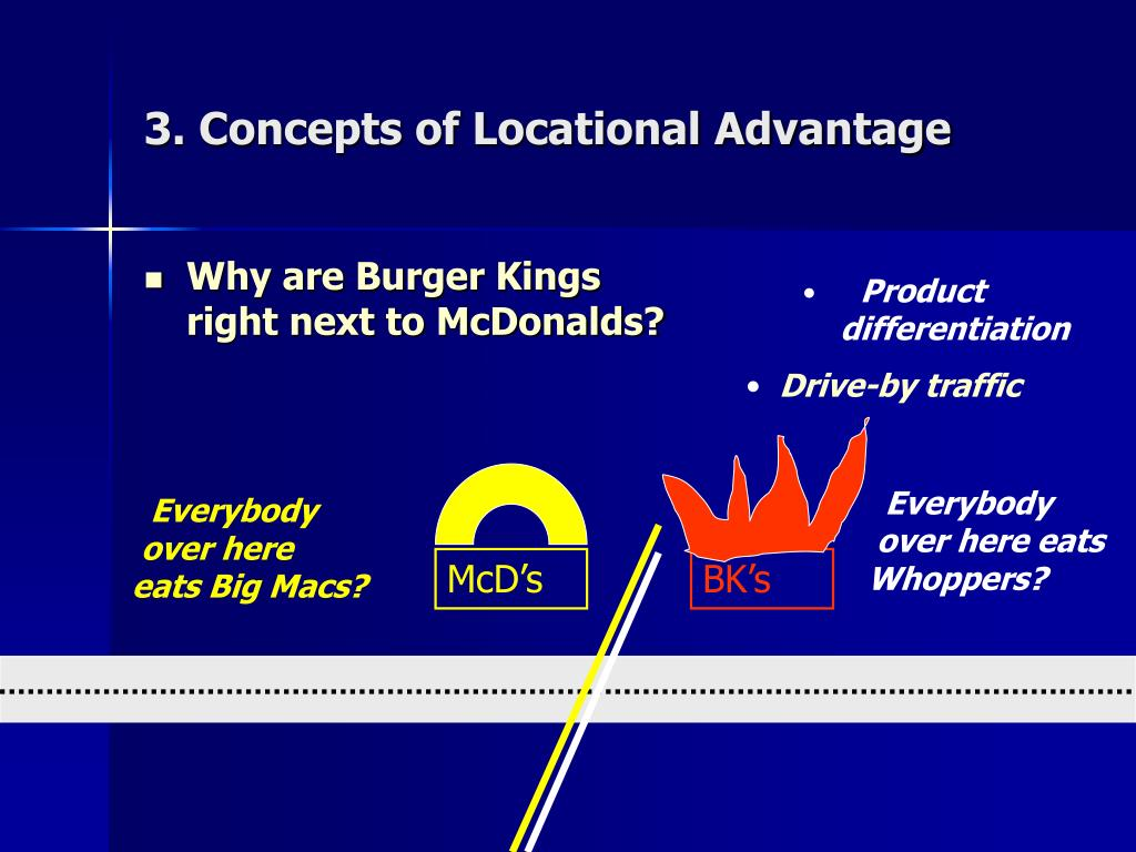 3. Concepts of Locational Advantage