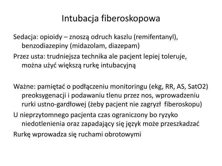 Intubacja fiberoskopowa