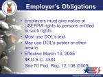 employer s obligations1