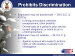 prohibits discrimination
