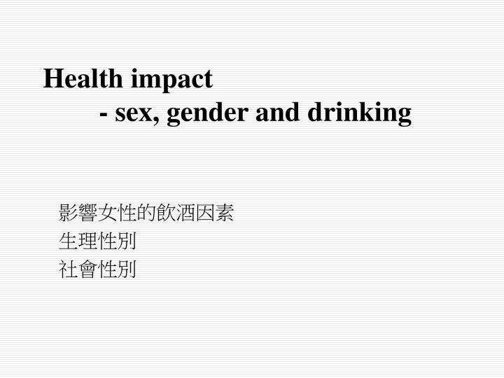 Health impact