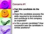 concerns 1