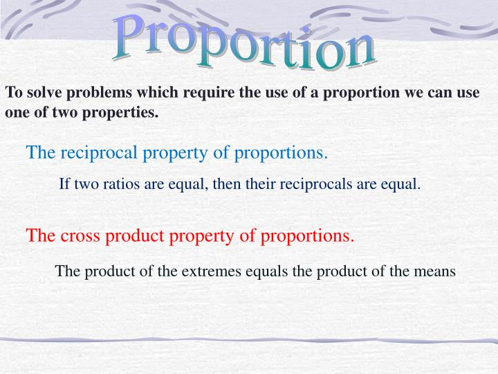 Proportion